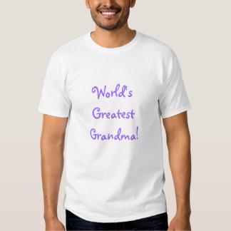 World's Greatest Grandma! Tshirt