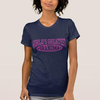 World's Greatest Grandma Tee Shirts
