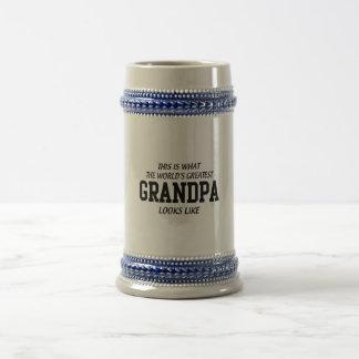 World's Greatest Grandpa Beer Steins
