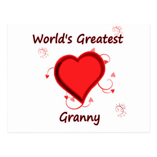 World's Greatest granny Post Cards