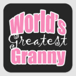 Worlds Greatest Granny Stickers