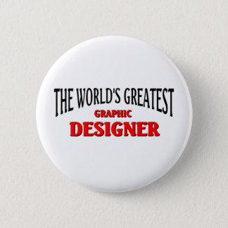 World's Greatest Graphic Designer 2 Inch Round Button