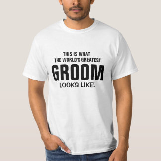 World's greatest Groom looks like T-Shirt