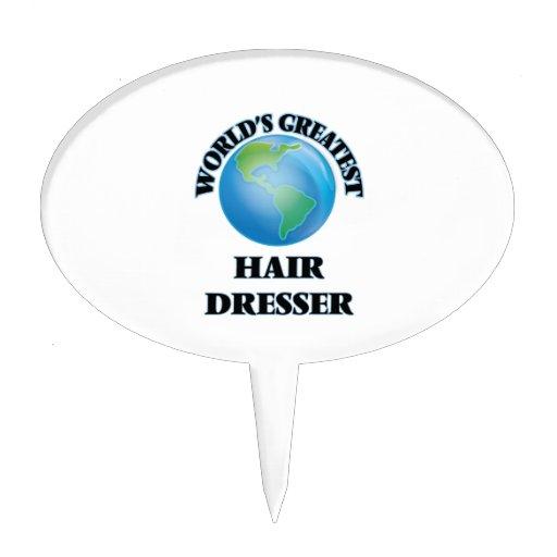 World's Greatest Hair Dresser Cake Toppers