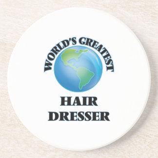 World's Greatest Hair Dresser Beverage Coaster