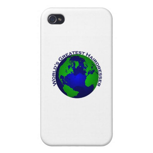 World's Greatest Hair Dresser iPhone 4 Cases