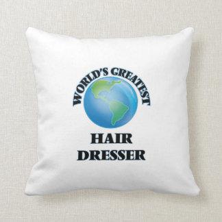 World's Greatest Hair Dresser Pillows