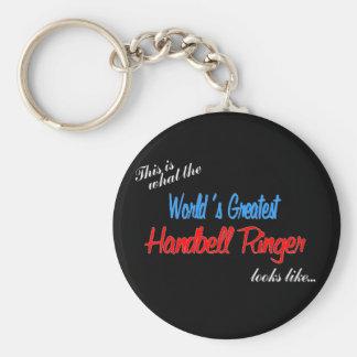 World's Greatest Handbell Ringer Keychain