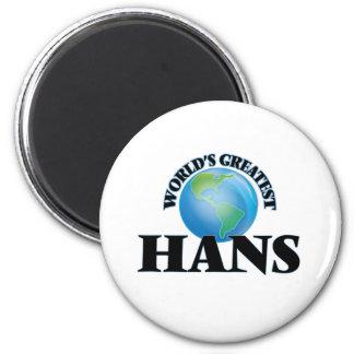 World's Greatest Hans Magnet