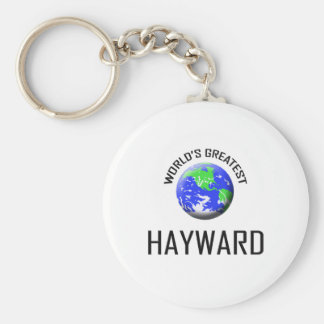 World's Greatest Hayward Keychain