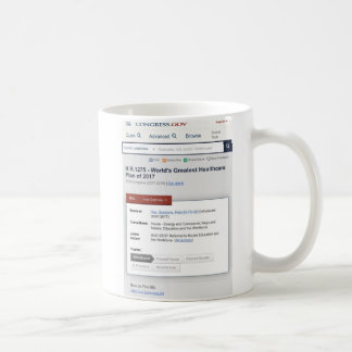 World's Greatest Healthcare Plan Coffee Mug
