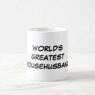 """""""World's Greatest Househusband"""" Mug"""