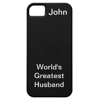 Worlds Greatest Husband Case For The iPhone 5