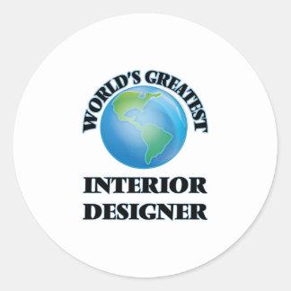 World's Greatest Interior Designer Sticker