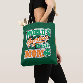 World's Greatest Irish Mom Tote Bag