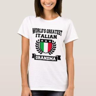 WORLD'S GREATEST ITALIAN GRANDMA T-Shirt