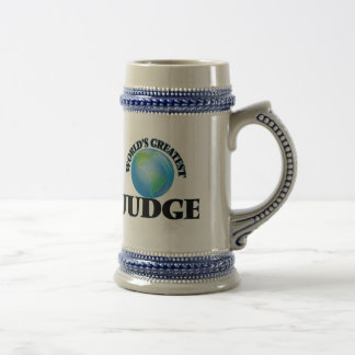 World's Greatest Judge 18 Oz Beer Stein