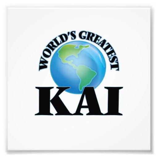 World's Greatest Kai Art Photo