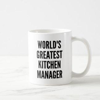 Worlds Greatest Kitchen Manager Coffee Mug