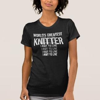 World's Greatest Knitter Tshirt