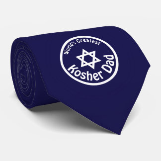World's Greatest Kosher Dad Tie