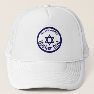 World's Greatest Kosher Dad Trucker Hat