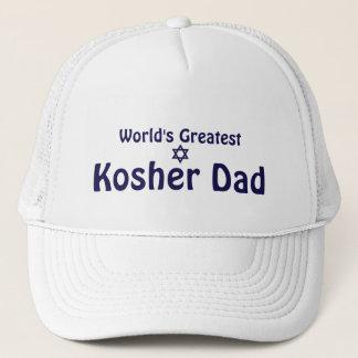 World's Greatest Kosher Dad Trucker Hat