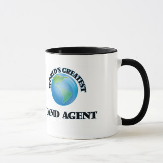 World's Greatest Land Agent Mug