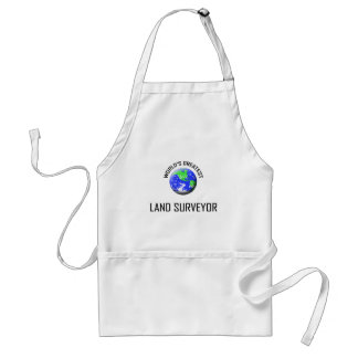 World's Greatest Land Surveyor Standard Apron