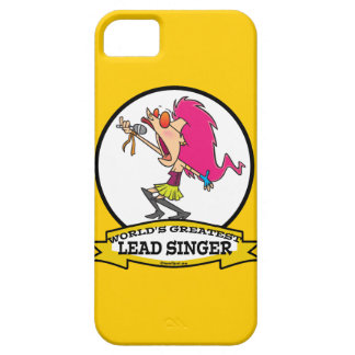 WORLDS GREATEST LEAD SINGER FEMALE CARTOON iPhone 5 COVER