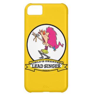 WORLDS GREATEST LEAD SINGER FEMALE CARTOON iPhone 5C CASE