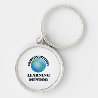 World's Greatest Learning Mentor Key Chains