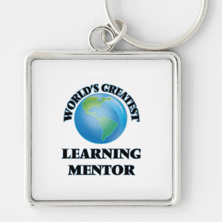 World's Greatest Learning Mentor Key Chain