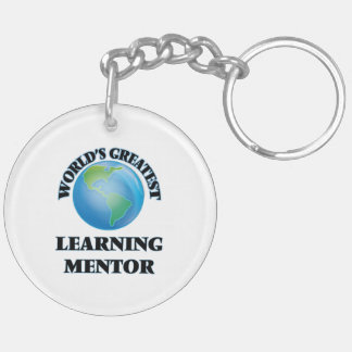 World's Greatest Learning Mentor Keychain