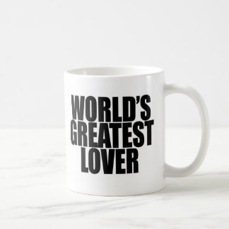 World's Greatest Lover Basic White Mug