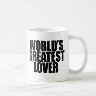 World's Greatest Lover Classic White Coffee Mug