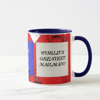 World's Greatest Mailman mug