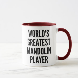 Worlds Greatest Mandolin Player Mug