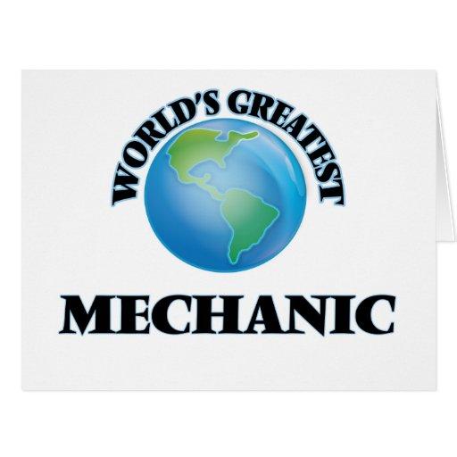 World's Greatest Mechanic Cards