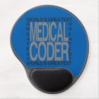 Worlds Greatest Medical Coder Gel Mouse Pad