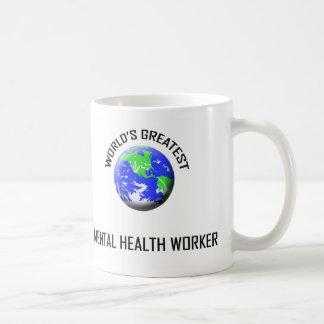 World's Greatest Mental Health Worker Coffee Mug