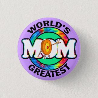 World's Greatest Mom; Archery 1 Inch Round Button