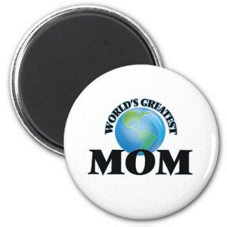 World's Greatest Mom Fridge Magnets