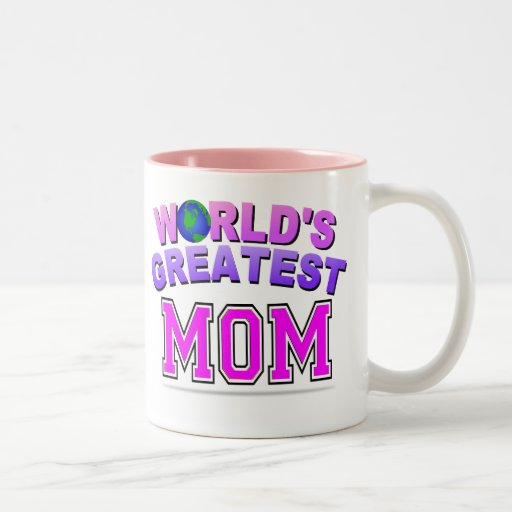 WORLD'S GREATEST MOM MUGS