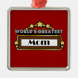 World's Greatest Mom Ornaments
