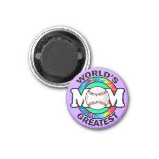 World's Greatest Mom; Softball Fridge Magnets