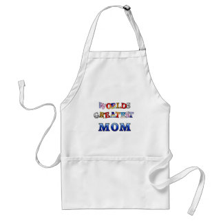 Worlds Greatest Mom Standard Apron