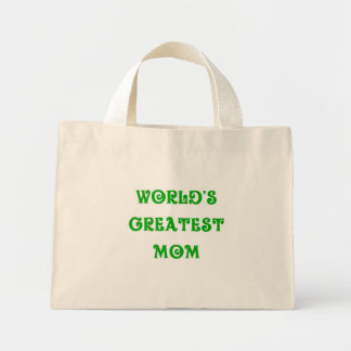 World's Greatest Mom tote Tote Bag