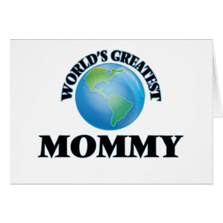 World's Greatest Mommy Cards