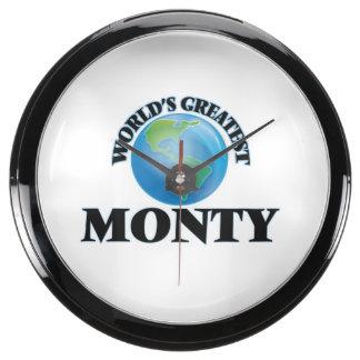 World's Greatest Monty Aquarium Clock